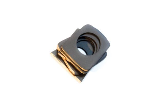 organic black anello sottile